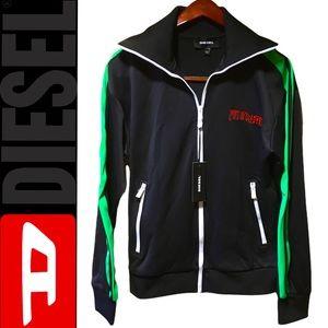 S-Hisoka Premium Diesel Zip Up Sweater Size Large